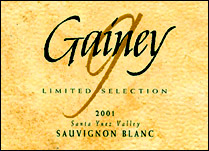 Gainey Vineyard Limited Selection Sauvignon Blanc