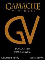 Gamache Vintners-Boulder Red