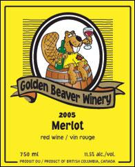 Golden Beaver Merlot