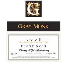 Gray Monk Cellars-Pinot Noir