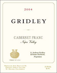 Gridley Cabernet Franc