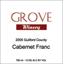 Grove Winery Cabernet Franc