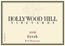 Hollywood Hill Vineyards-Syrah