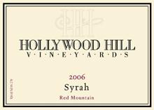 Hollywood Hill Vineyards-Syrah