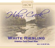 Hahn Creek Winery-Riesling