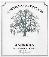 Hamilton Oaks Vineyard-Barbera
