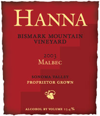 Hanna Winery-Malbec