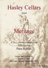 Hasley Cellars-Meritage
