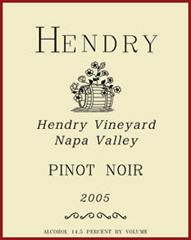 Hendry Ranch Winery - Pinot Noir