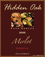 Hidden Oak Winery-Merlot