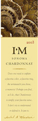 I-M Wines chardonnay