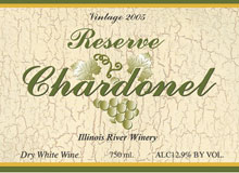 Illinois River Winery-Reserve Chardonel