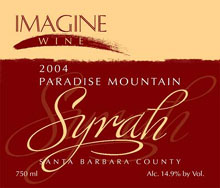 Imagine Wine-Syrah