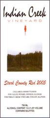 Indian Creek Vineyard-Stark County Red
