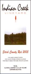 Indian Creek Vineyard-Stark County Red