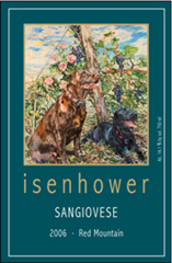 Isenhower Cellars-Sangiovese