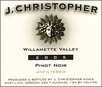 J. Christopher Wines-Pinot Noir