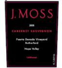 J. Moss Wine-Cabernet Sauvignon