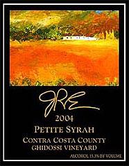 JRE Wines, Contra Costa Petite Syrah