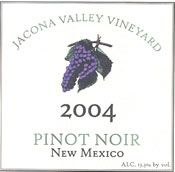 Jacona Valley Vineyard-Pinot Noir