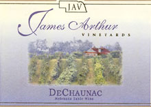 James Arthur Vineyards-DeChaunac