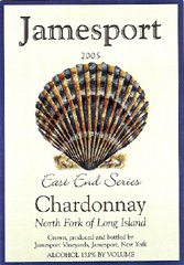 Jamesport Vineyards chardonnay