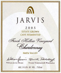 Jarvis Winery-Chardonnay