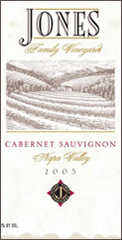Jones Family Winery-Cab Sauvignon