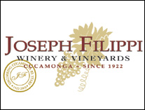 Joseph Filippi Winery & Vineyards - Cucamonga Valley, California Wines
