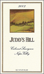 Judds Hill Estate - Napa Valley Cabernet Sauvignon