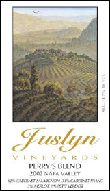 Juslyn Vineyards - Spring Mountain, Napa Valley Perrys Blend