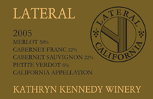 Kathryn Kennedy Winery - Santa Cruz Mountains Cabernet Sauvignon