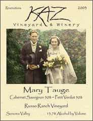 Kaz Vineyard and Winery-Mary Tauge