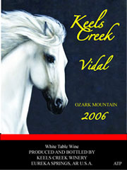 Keels Creek Winery-Vidal