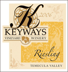 Keyways Vineyard and Winery-Riesling