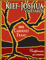 Kief-Joshua Vineyards-Cabernet Franc