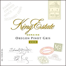 King Estate Winery - Pinot Gris