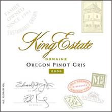 King Estate Winery - Pinot Gris