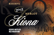 Kiona Vineyards-Merlot