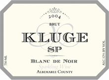 Kluge Estate Winery and Vineyard - SP Blanc de Noir Brut