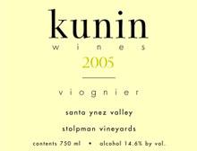 Kunin Wines-Viognier