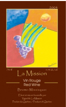 Vignoble la Mission-Vin Rouge