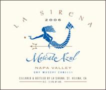 La Sirena-Moscato Azul