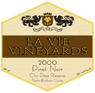 La Vie Vineyards-Pinot Noir