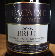 L'Acadie Vineyards-Brut