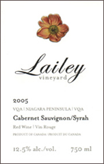 Lailey Vineyard-Cabernet/Syrah