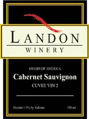 Landon Winery cabernet sauvignon