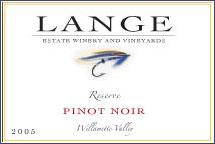 Lange - Pinot Noir