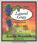 Laurel Gray Vineyards-Scarlet Mountain
