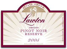 Lawton Winery-Pinot Noir Reserve